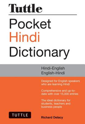 Tuttle Hindi Dictionary By Delacy, Richard